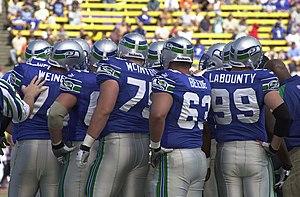 2000 Seattle Seahawks season - Seahawks offensive linemen in 2000