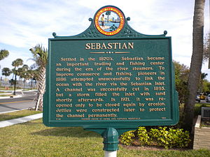 Sebastian, Florida - Sebastian Historical Marker