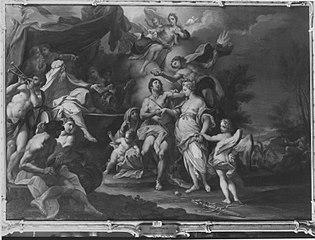 Vermählung des Hippomenes (Kopie nach)