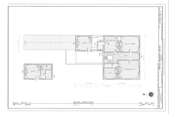 File second floor plan sewall belmont house 144 for Northeast house plans