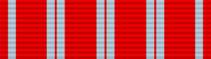 Second Nicaraguan Campaign Medal - Image: Second Nicaraguan Campaign Medal ribbon