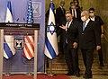 Secretary Pompeo and Israeli Prime Minister Netanyahu Prepare to Deliver Statements to the Press (50263265987).jpg