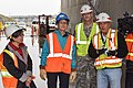 Secretary of the Interior Sally Jewell tours Folsom auxiliary spillway project (16300858357).jpg