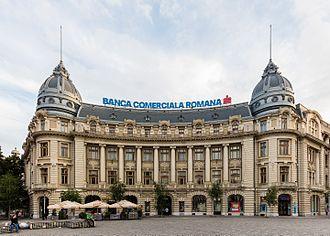 Banca Comercială Română - The BCR headquarters in Bucharest