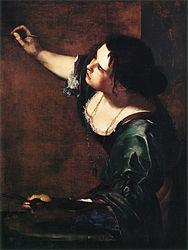 Artemisia Gentileschi: Self-Portrait as the Allegory of Painting