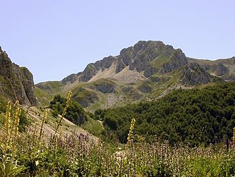 Monte Terminillo - Terminillo seen from the east