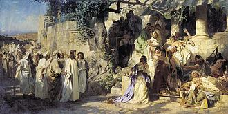Henryk Siemiradzki - Image: Semiradsky Christ and Sinner