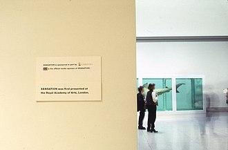 Sensation (art exhibition) - Sensation installed at Brooklyn Museum (October 1999  – January 2000)