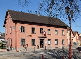 The town hall of Sentheim