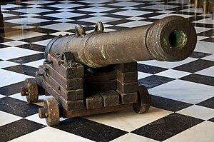 Nuestra Señora de Atocha - Gun of the Nuestra Señora de Atocha at the Archivo General de Indias