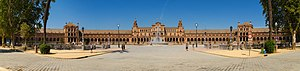 Star Wars: Episode II – Attack of the Clones - Plaza de España was the filming location for the Naboo palace.
