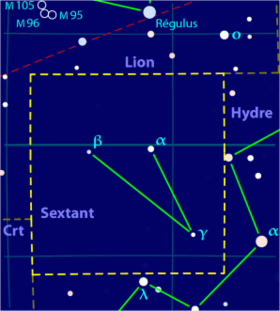 Image illustrative de l'article Sextant (constellation)