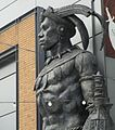 Shaka of Zululand statue 2015 London (3).jpg