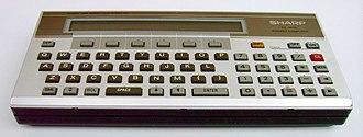 Sharp PC-1500 - Sharp PC-1500 Pocket Computer