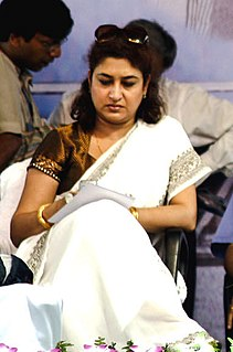Satabdi Roy Indian actress, director, politician