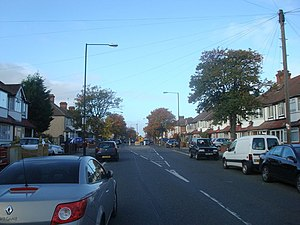 Pollards Hill - Image: Sherwood Park Road, Pollards Hill geograph.org.uk 1553530