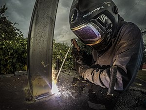 Shielded metal arc welding - Shielded metal arc welding