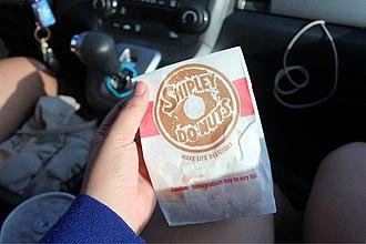 Shipley Do-Nuts - Image of Shipley Donuts individual packaging