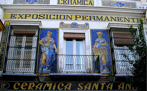 Where to buy ceramics in Seville?