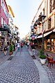 Shopping street in the old town of Chania on Crete, Greece.jpg