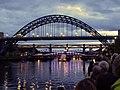 Showboat, Newcastle Gateshead Bridges Festival (geograph 2552614).jpg