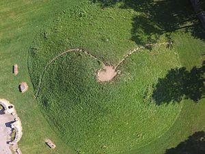 Shrum Mound - Image: Shrum Mound aerial 4