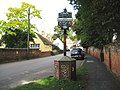 Sible Hedingham, Village sign - geograph.org.uk - 1466810.jpg