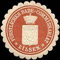 Siegelmarke Fürstliches Bade - Commissariat - Eilsen W0216531.jpg