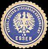 Siegelmarke Königlich Preussische Eisenbahn Abnahme - Amt in Essen W0219808.jpg