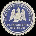 Siegelmarke K.Pr. 86. Infanterie-Division W0379150.jpg
