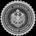 Siegelmarke K. Eisenbahn-Kommando Südwest-Afrika W0379012.jpg