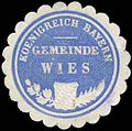 Siegelmarke Koenigreich Bayern Gemeinde Wies W0293229.jpg