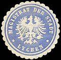 Siegelmarke Magistrat der Stadt - Lychen W0262619.jpg