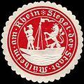 Siegelmarke Siegel der Stadt Mülheim am Rhein W0237463.jpg