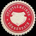 Siegelmarke Stadtgemeinde Vöhrenbach W0311514.jpg