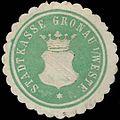 Siegelmarke Stadtkasse Gronau in Westfalen W0331478.jpg