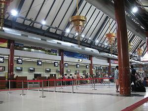 Siem Reap International Airport - Interior view of Siem Reap International Airport