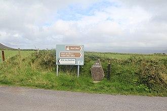 Ard na Caithne - Image: Signpost, Ard na Caithne
