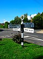 Signpost, West Chiltington Common - geograph.org.uk - 246441.jpg