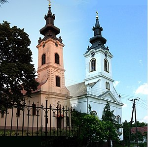 Silbaš - Serbian Orthodox Church and Slovak Evangelical A.V. Church