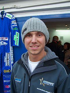 Simon Stead Speedway rider