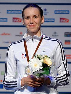 Simona Gherman Romanian épée fencer