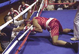 A knockout can be characterized by temporary unconsciousness.