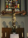 sint martinuskerk katwijk (cuijk) kruisbeeld op hoofdaltaar