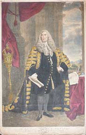 Baron Brownlow - Sir John Cust, 3rd Baronet