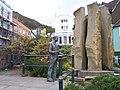 Sir Edward Elgar and the Enigma Fountain - geograph.org.uk - 3965.jpg