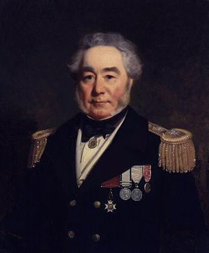 Horatio Thomas Austin - Portrait of Horatio Thomas Austin by Stephen Pearce, 1860.