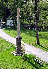 Sloup se sochou Panny Marie Svatohorské