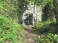 Small cave entrance at Cat Hole Rock - geograph.org.uk - 2353599.jpg