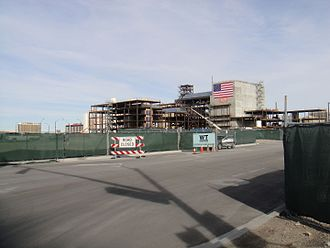 Smith Center for the Performing Arts - The Smith Center construction site in March 2010